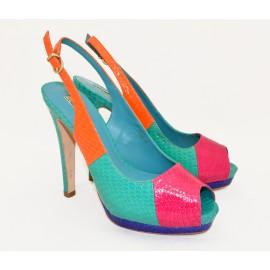 Открытые туфли Luciano Barachini Арт. 4215 С