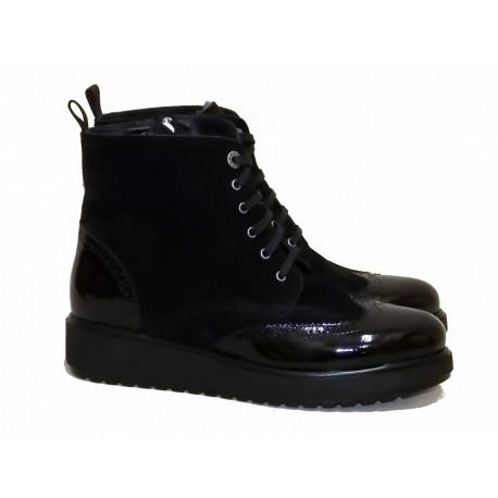 Ботинки Marzetti Арт. 4361 vern. nero