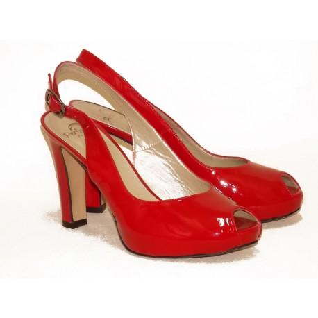 Туфли Perlato Арт. 7933 rouge