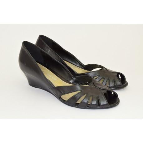 Открытые туфли Anna de Valle Арт. 9691 nero